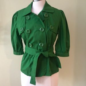 INC Green Jacket
